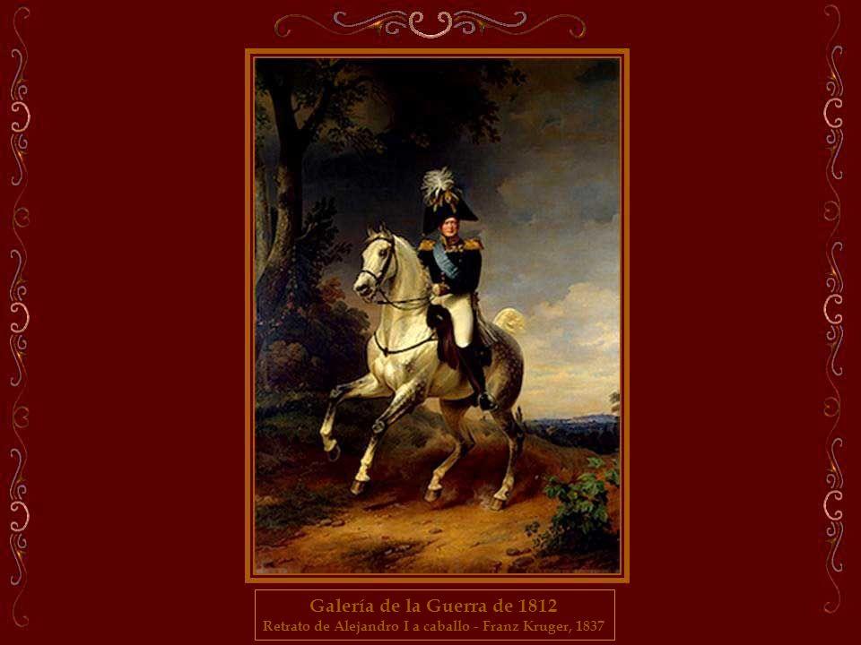 Retrato de Alejandro I a caballo - Franz Kruger, 1837
