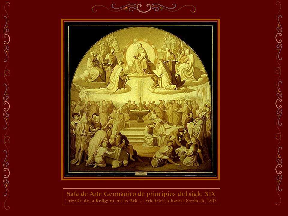 Sala de Arte Germánico de principios del siglo XIX