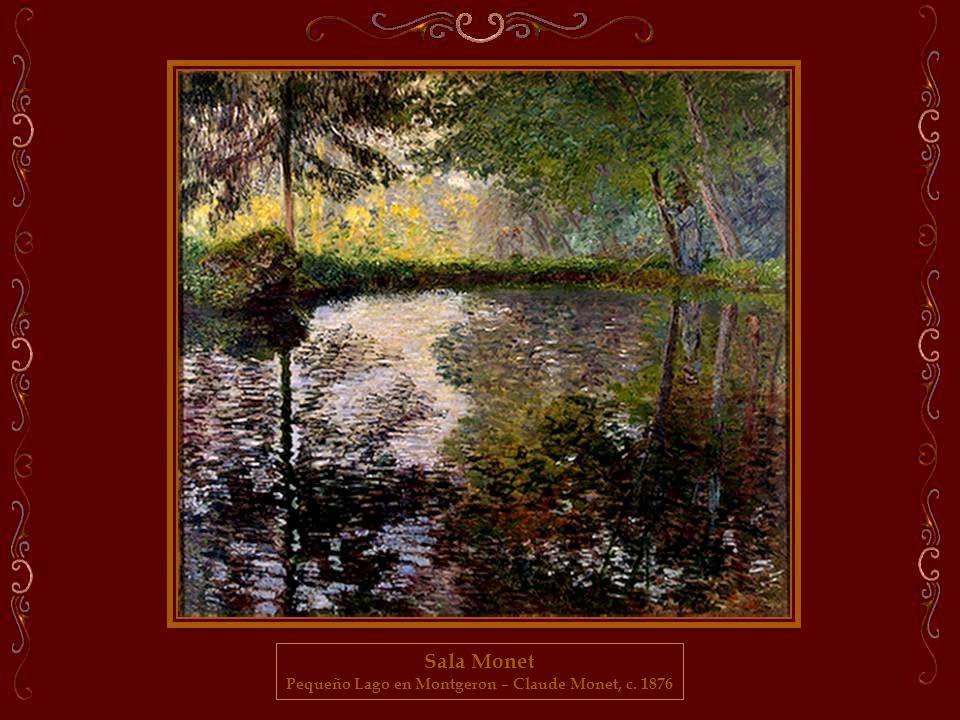 Pequeño Lago en Montgeron – Claude Monet, c. 1876