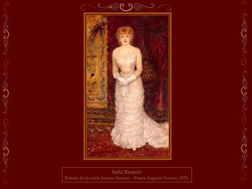 Retrato de la actriz Jeanne Samary – Pierre-Auguste Renoir, 1878