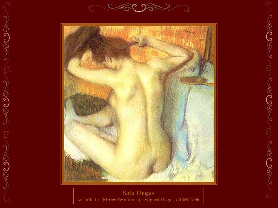 La Toilette (Mujer Peinádose) - Edgard Degas, c.1884-1886