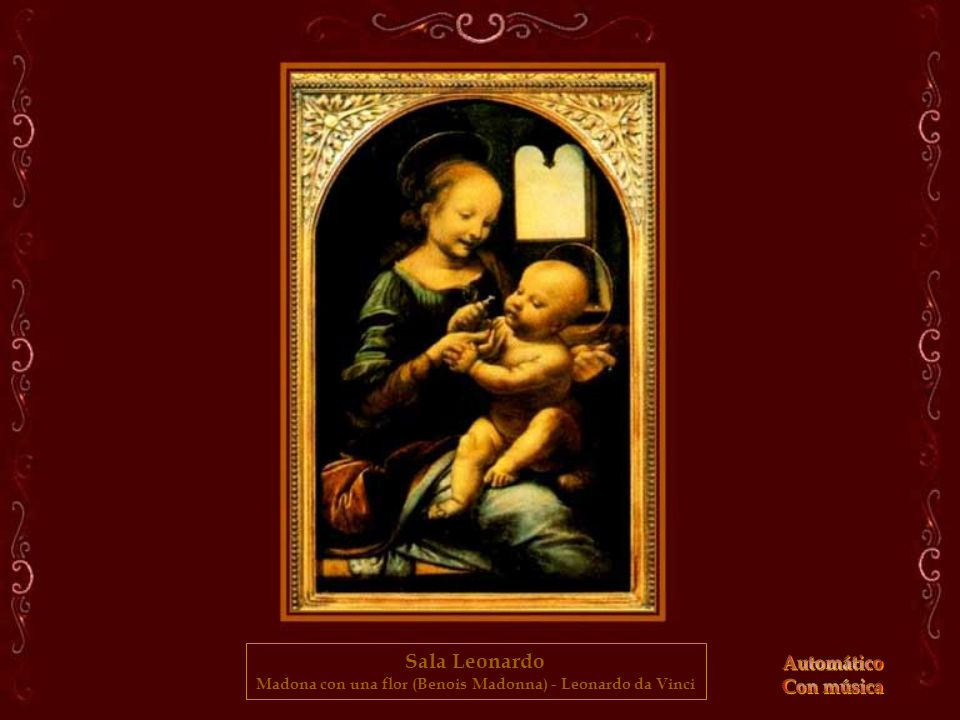 Madona con una flor (Benois Madonna) - Leonardo da Vinci
