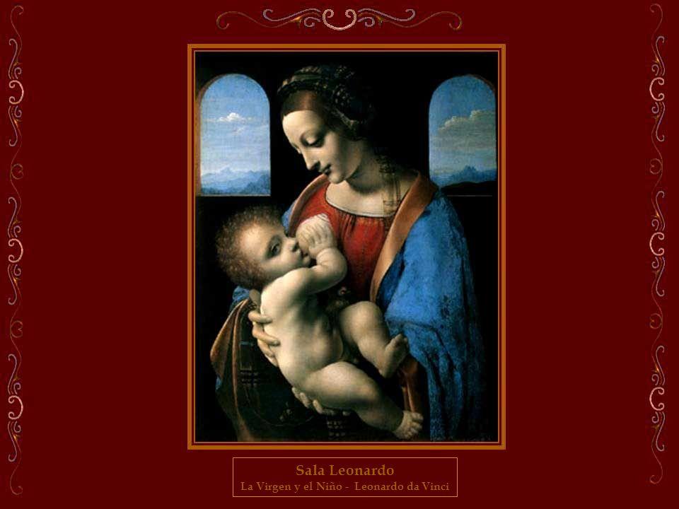 La Virgen y el Niño - Leonardo da Vinci