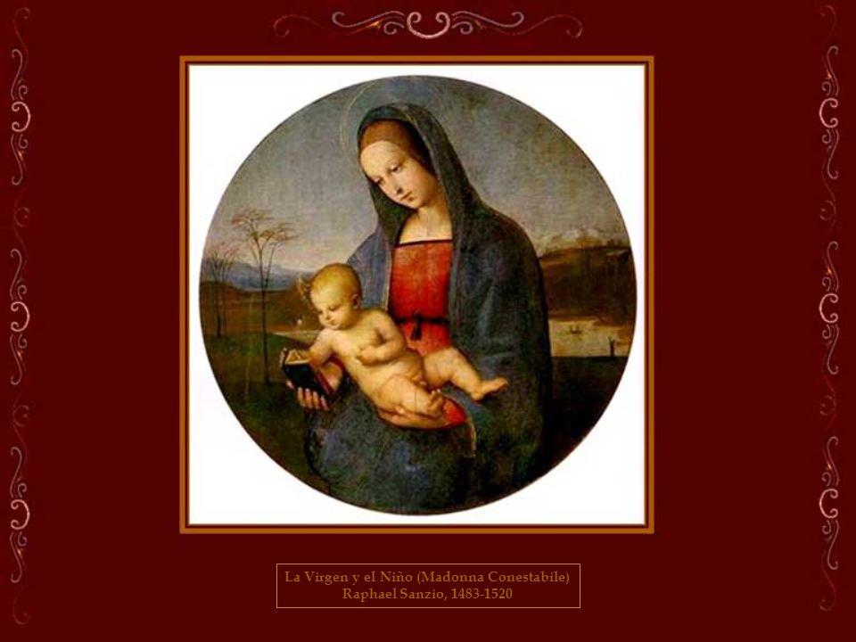 La Virgen y el Niño (Madonna Conestabile)
