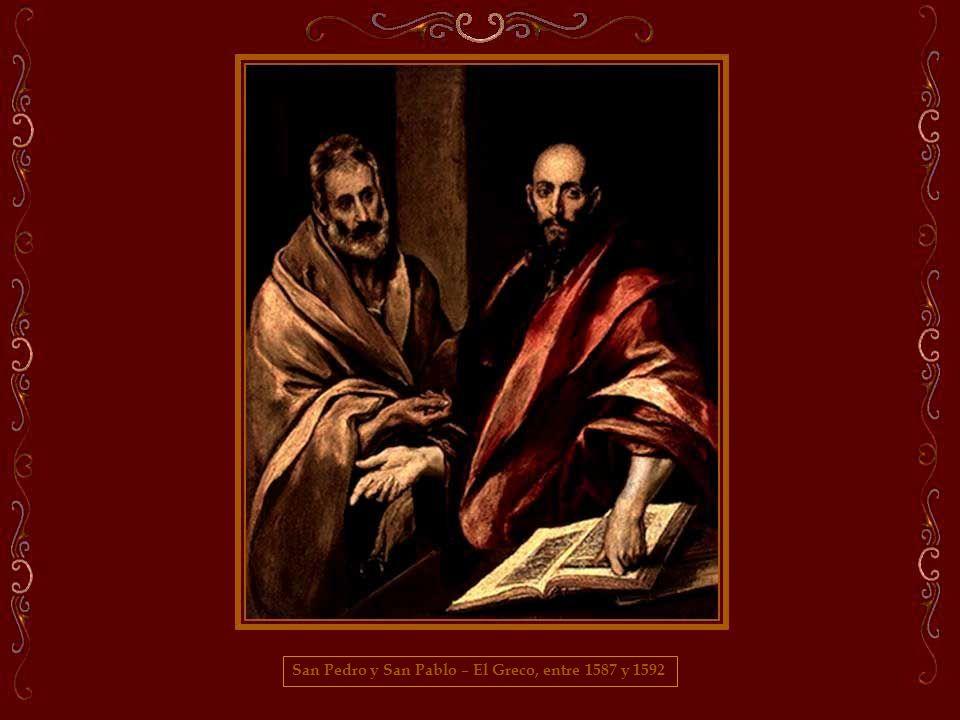 San Pedro y San Pablo – El Greco, entre 1587 y 1592