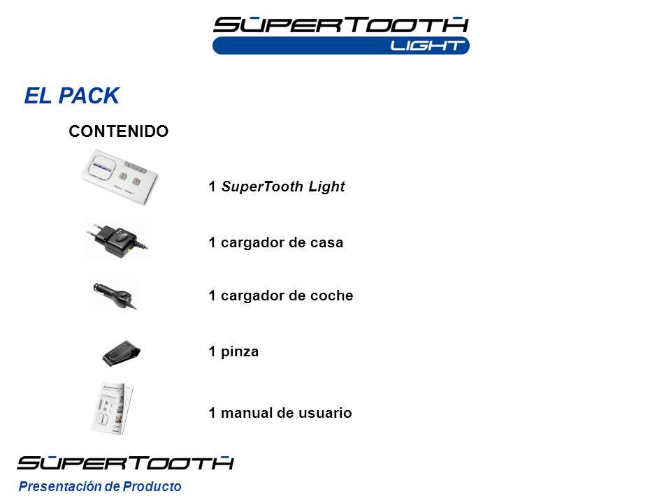 EL PACK CONTENIDO 1 SuperTooth Light 1 cargador de casa
