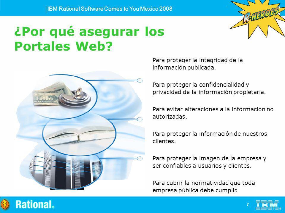 ¿Por qué asegurar los Portales Web