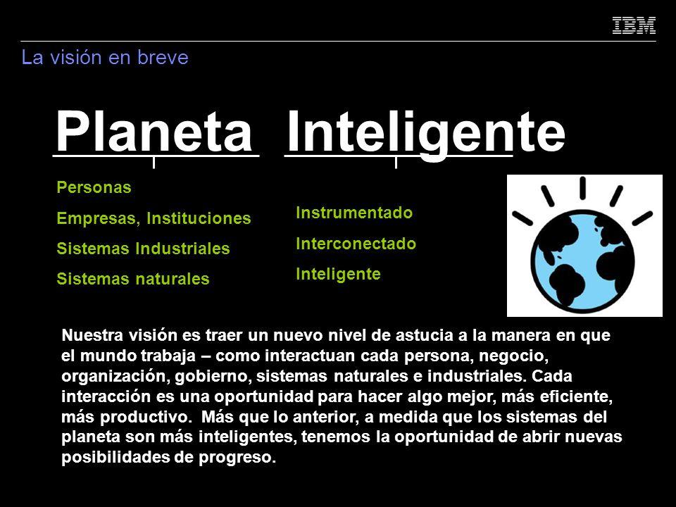 Planeta Inteligente La visión en breve Personas