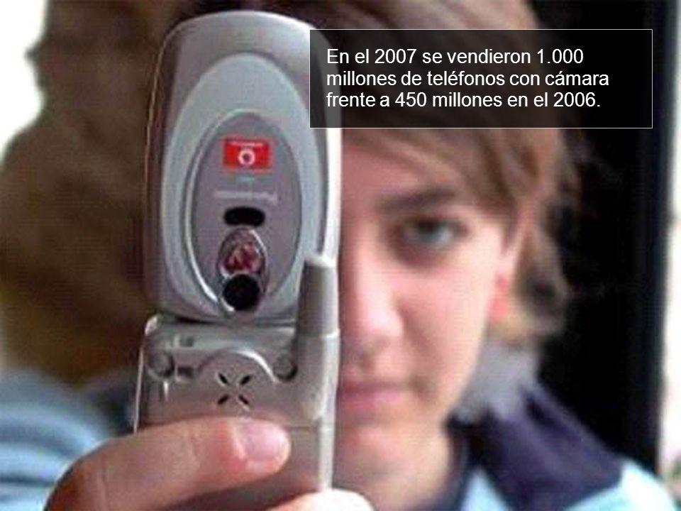 En el 2007 se vendieron 1.000 millones de teléfonos con cámara frente a 450 millones en el 2006.