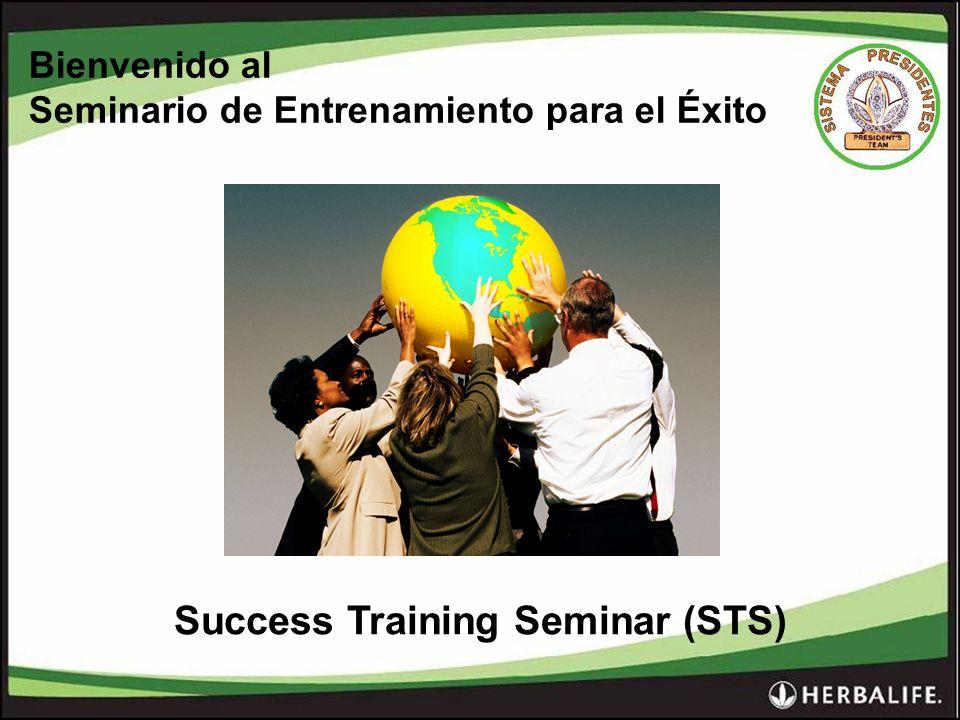 Bienvenido al Seminario de Entrenamiento para el Éxito