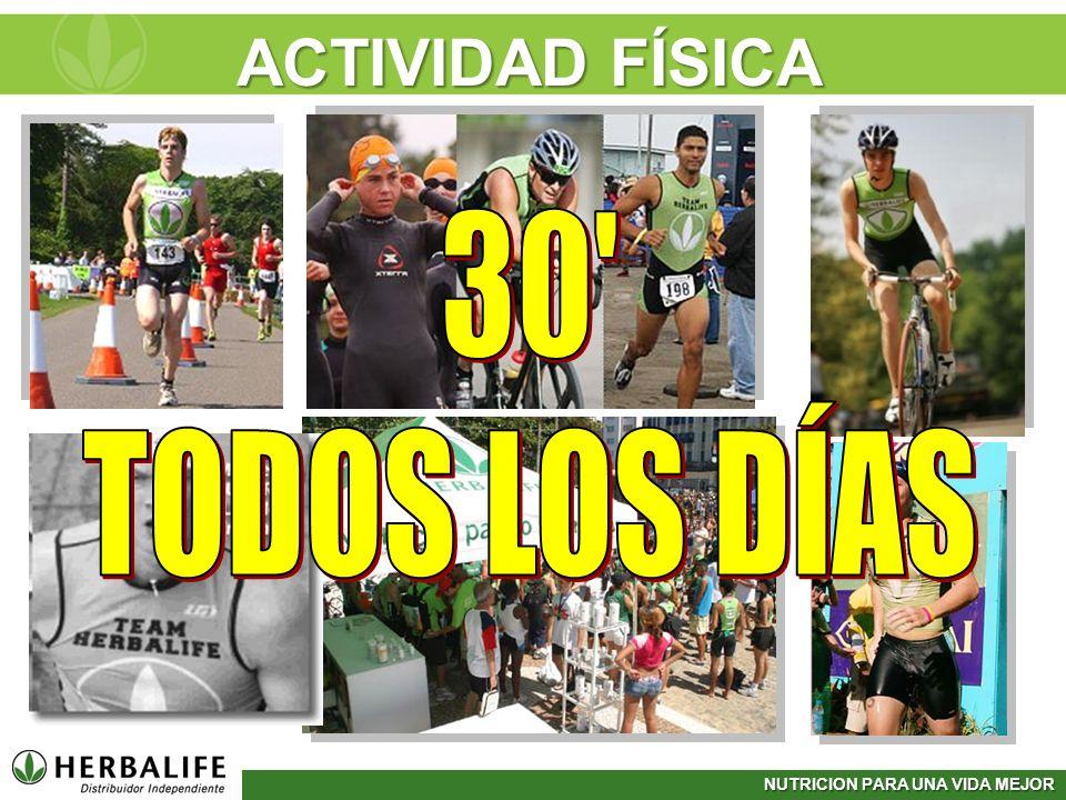 ACTIVIDAD FÍSICA 30 TODOS LOS DÍAS