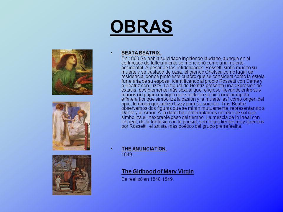 OBRAS BEATA BEATRIX.