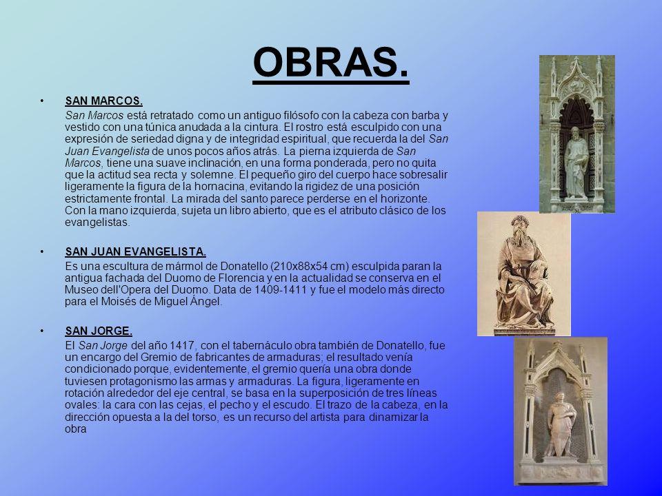 OBRAS. SAN MARCOS.