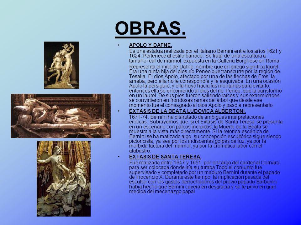 OBRAS. APOLO Y DAFNE.