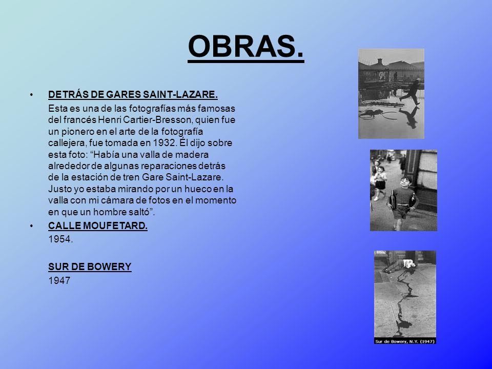 OBRAS. DETRÁS DE GARES SAINT-LAZARE.