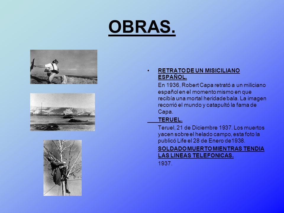 OBRAS. RETRATO DE UN MISICILIANO ESPAÑOL.