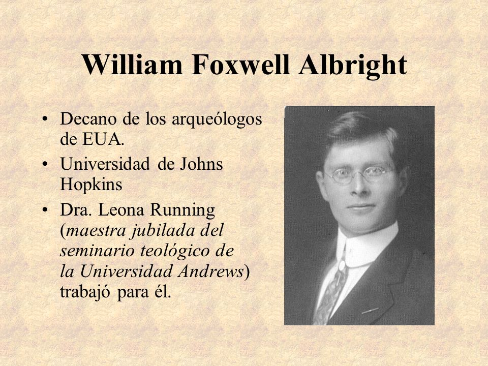 William Foxwell Albright