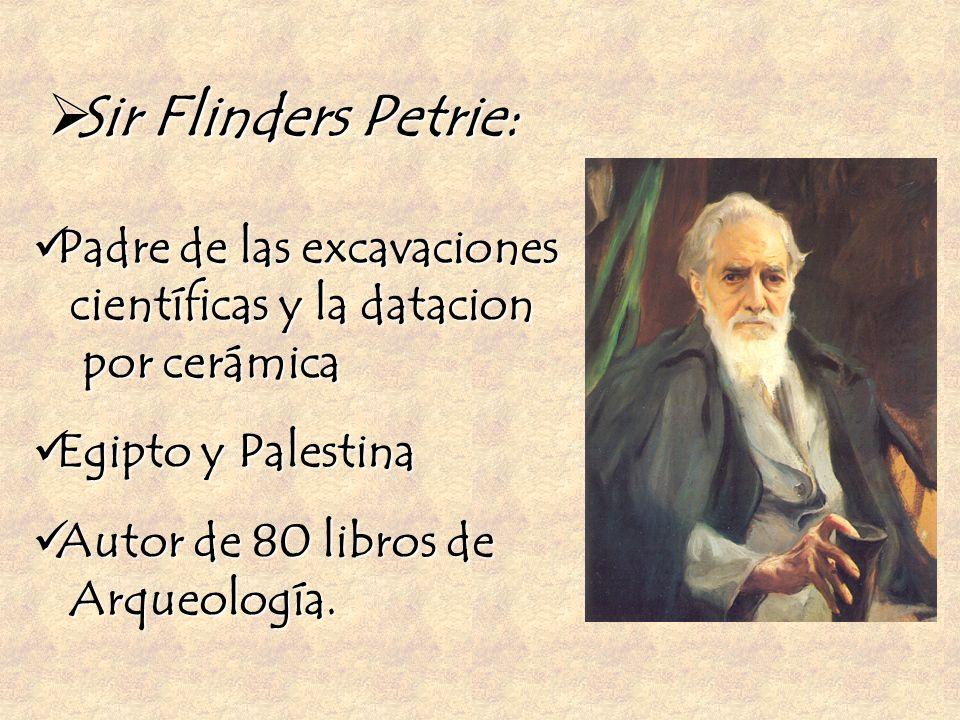 Sir Flinders Petrie: Padre de las excavaciones