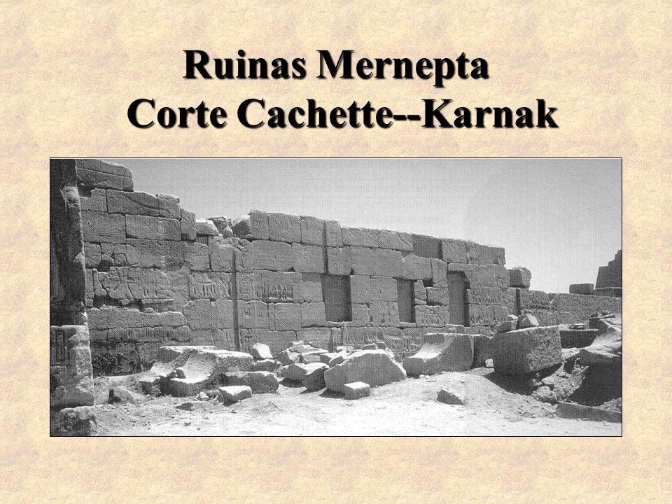 Ruinas Mernepta Corte Cachette--Karnak