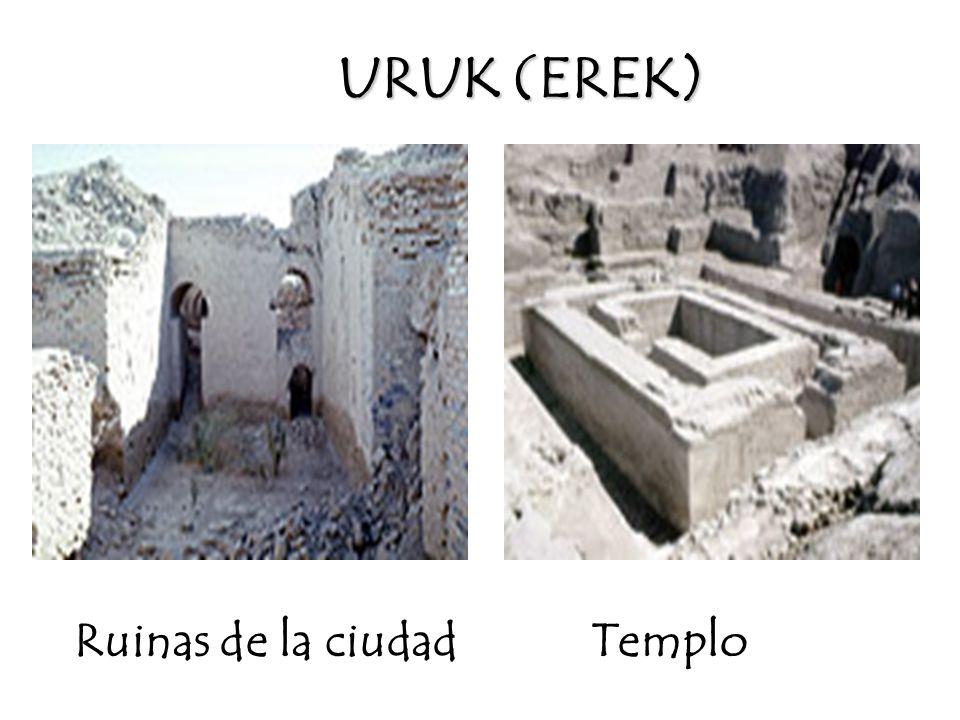 URUK (EREK) Ruinas de la ciudad Templo