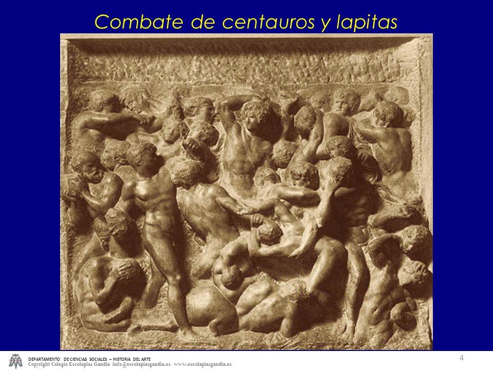 Combate de centauros y lapitas
