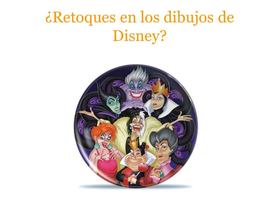 ¿Retoques en los dibujos de Disney