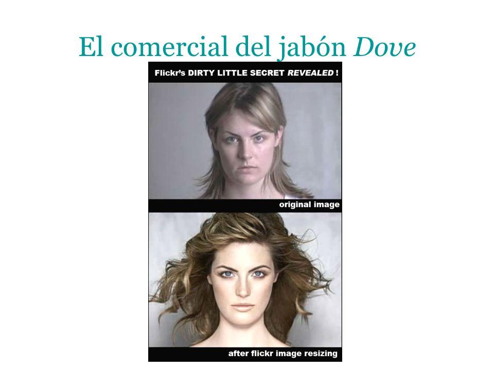 El comercial del jabón Dove