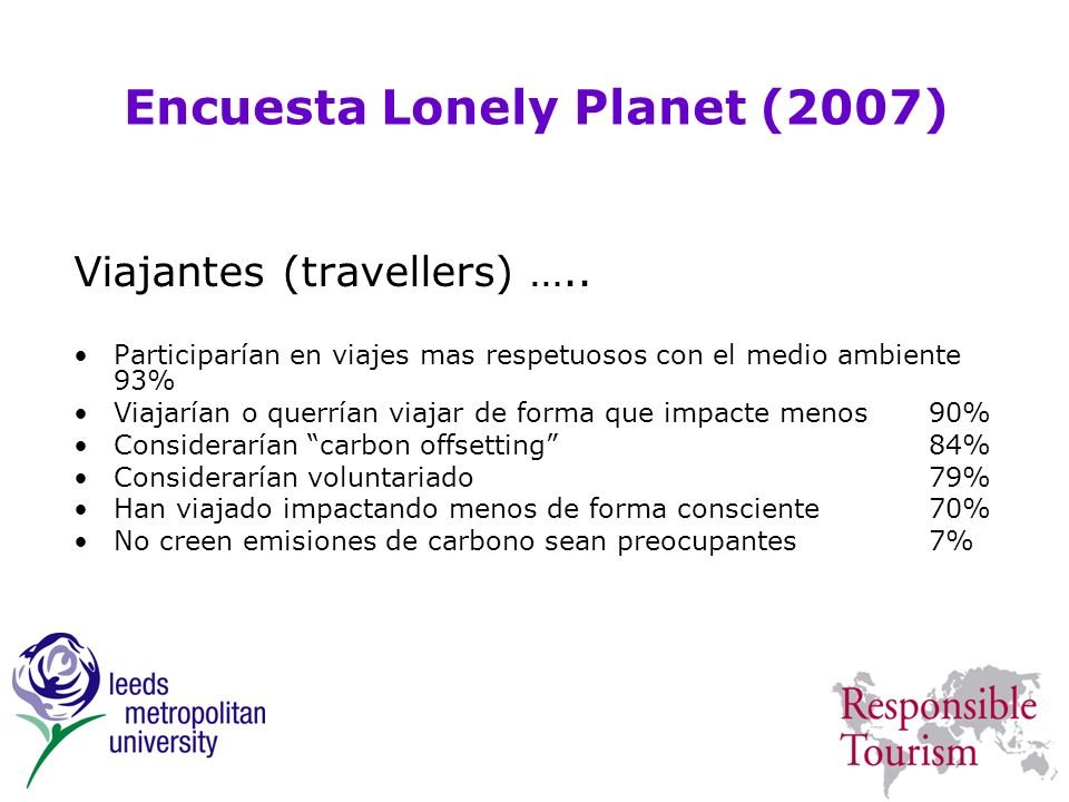 Encuesta Lonely Planet (2007)