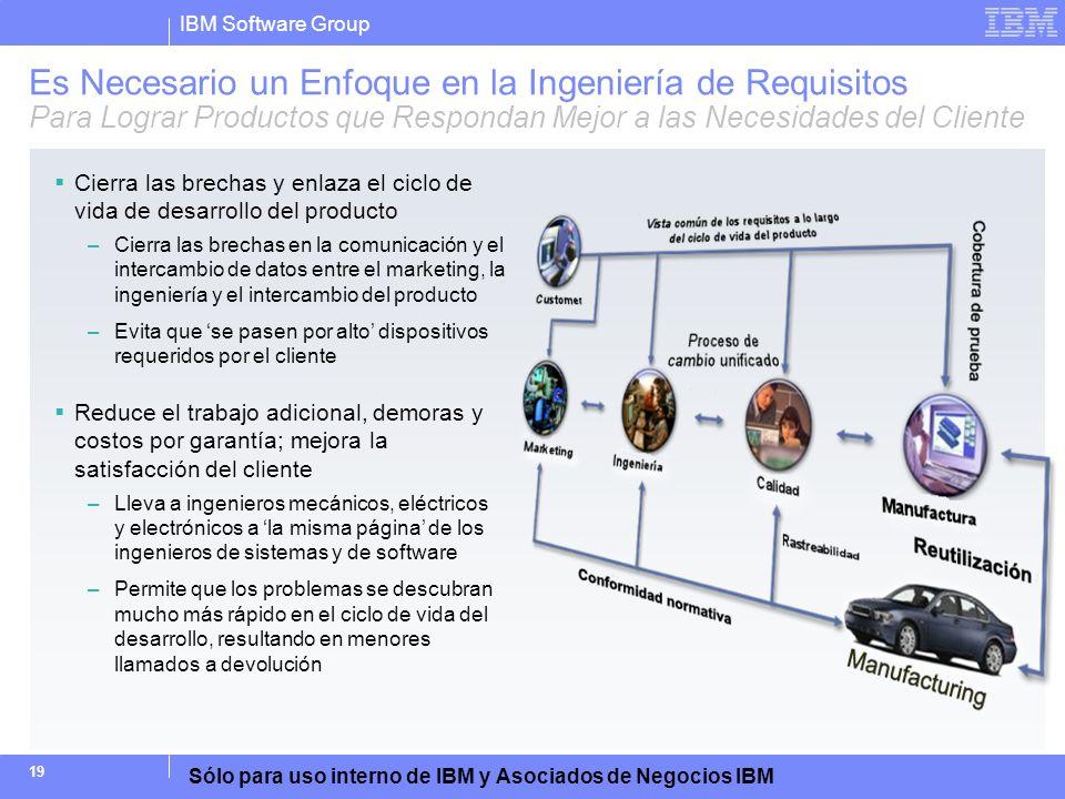 Es Necesario un Enfoque en la Ingeniería de Requisitos Para Lograr Productos que Respondan Mejor a las Necesidades del Cliente