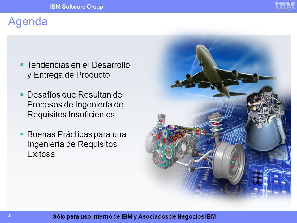 Agenda Tendencias en el Desarrollo y Entrega de Producto