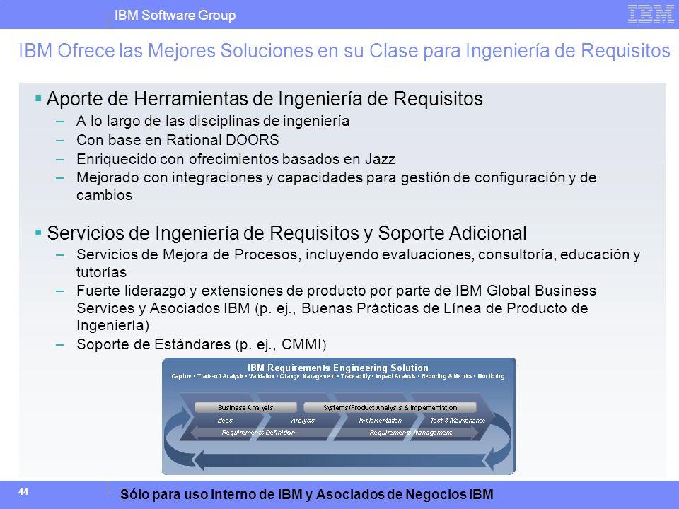 Aporte de Herramientas de Ingeniería de Requisitos