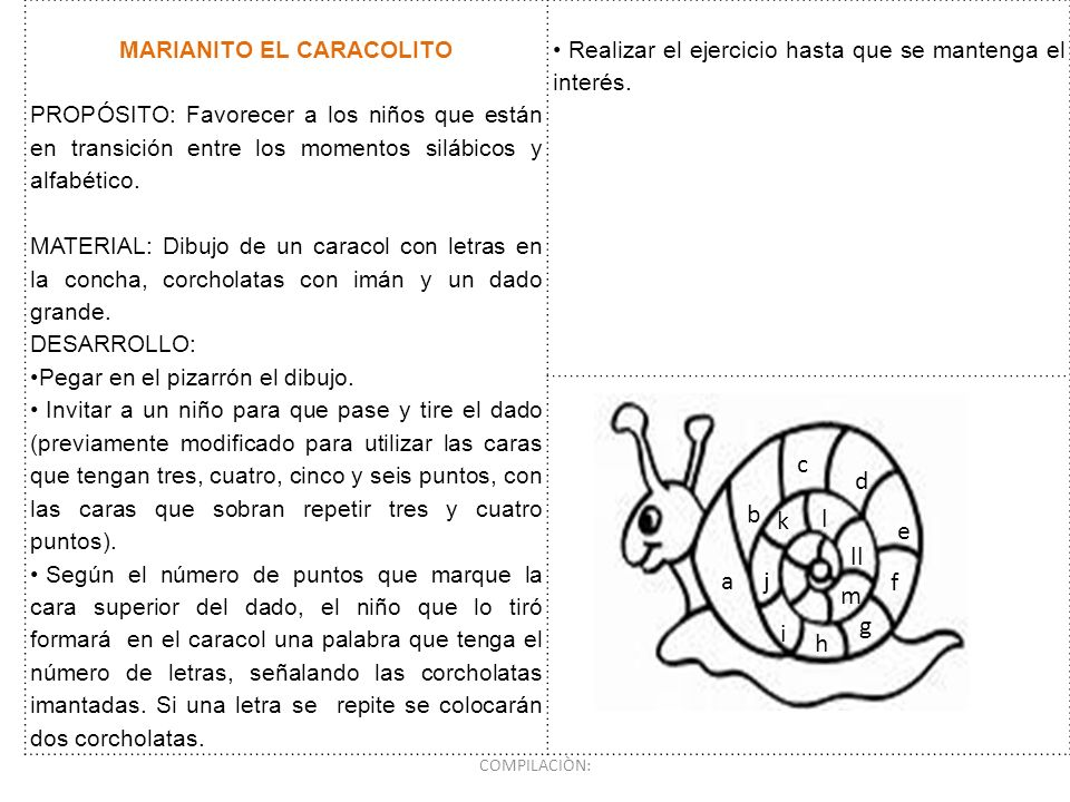 MARIANITO EL CARACOLITO