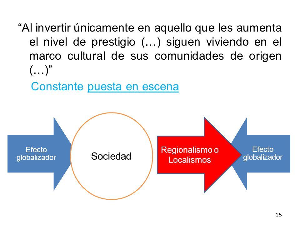 Regionalismo o Localismos