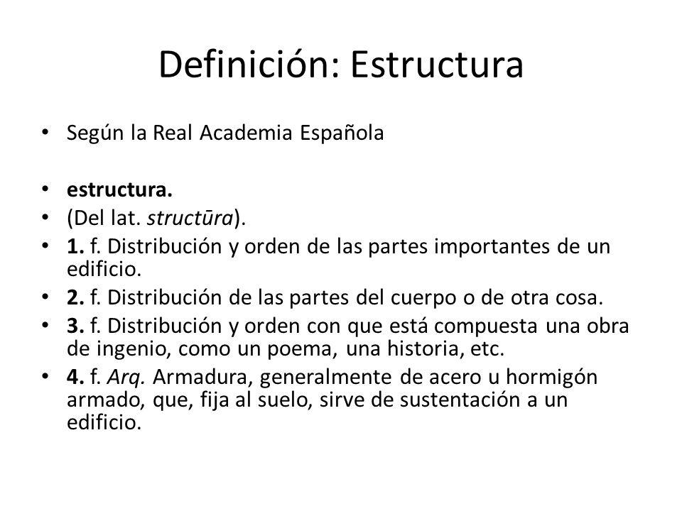 Definición: Estructura