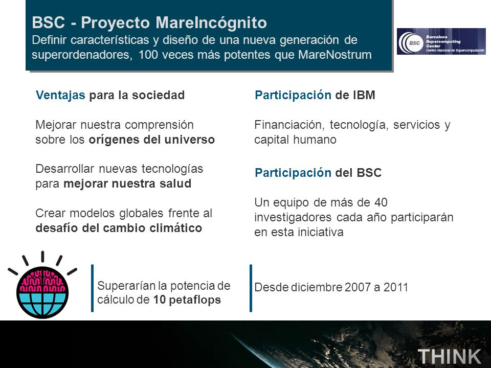 BSC - Proyecto MareIncógnito