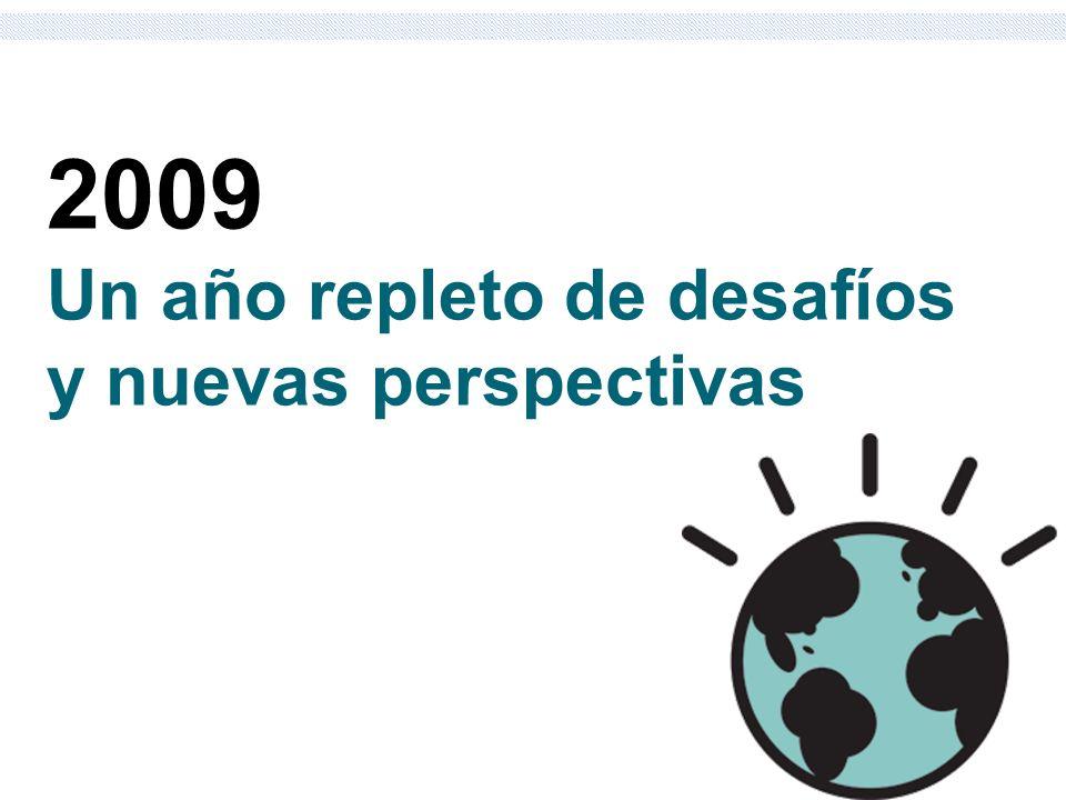 2009 Un año repleto de desafíos y nuevas perspectivas