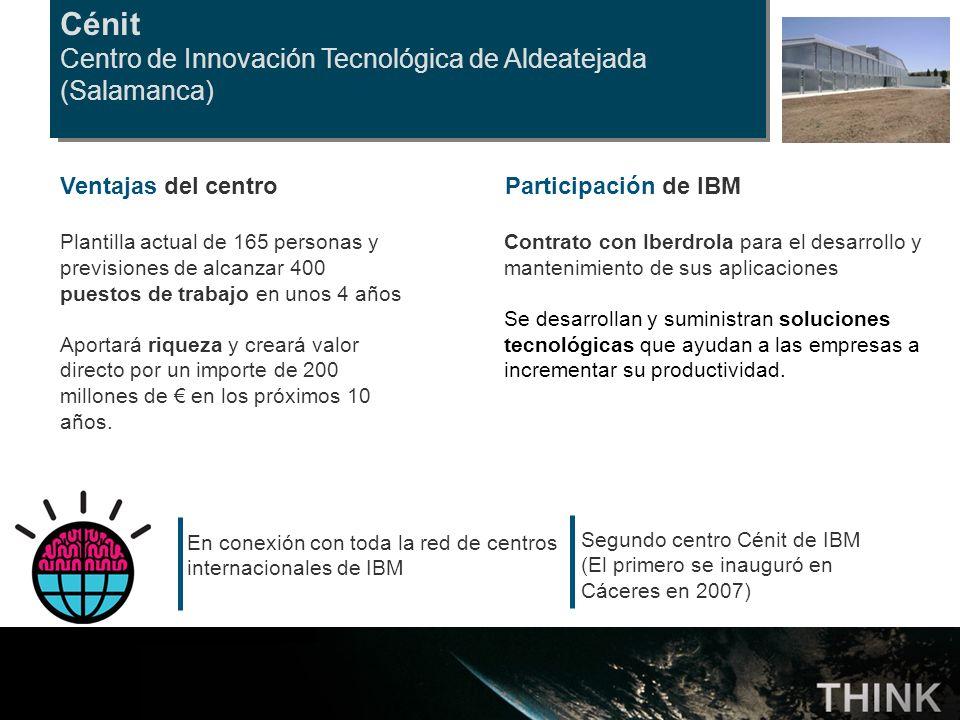 Cénit Centro de Innovación Tecnológica de Aldeatejada (Salamanca)