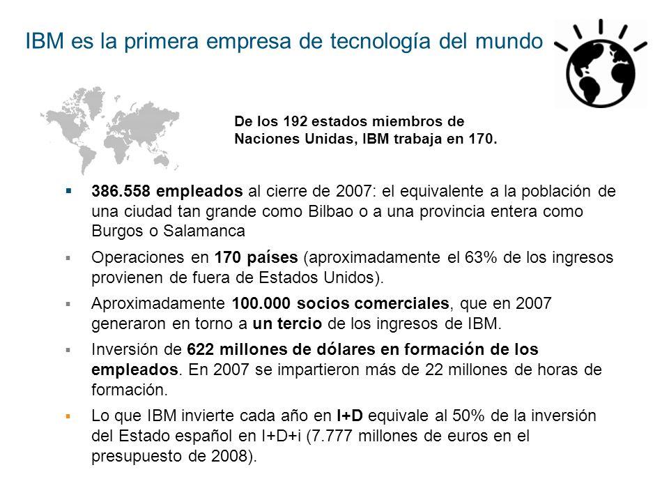 IBM es la primera empresa de tecnología del mundo
