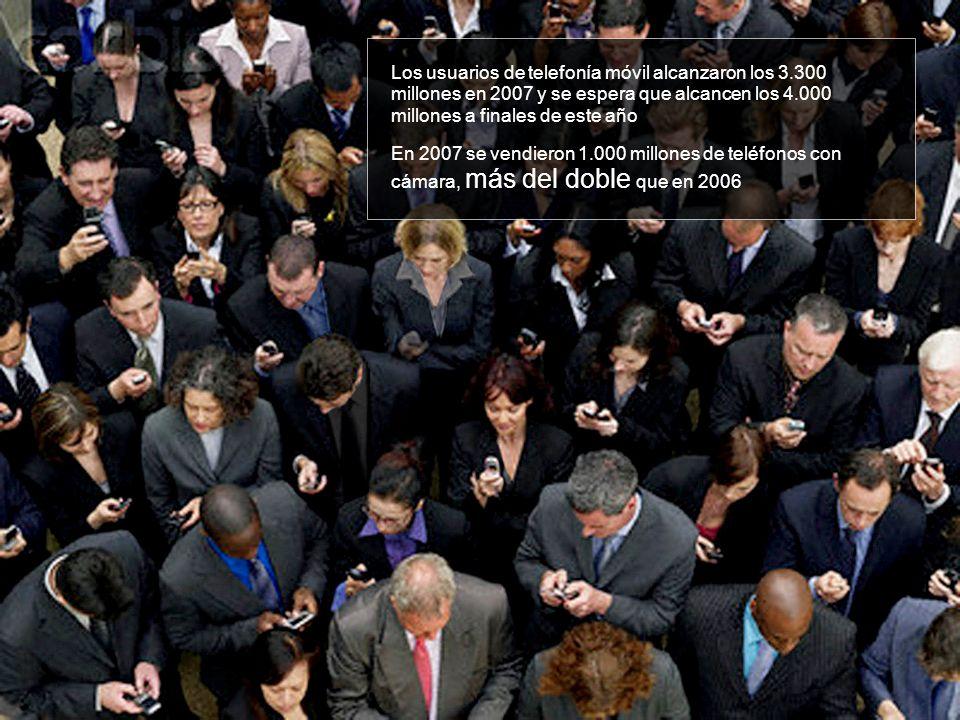 Los usuarios de telefonía móvil alcanzaron los 3