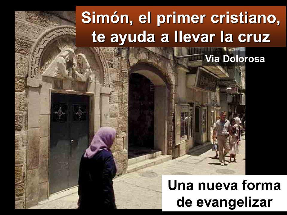 Simón, el primer cristiano, te ayuda a llevar la cruz