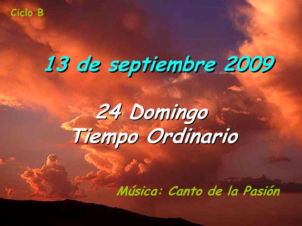 24 Domingo Tiempo Ordinario