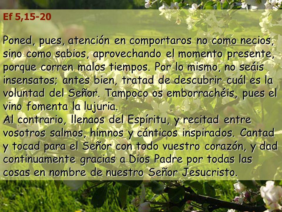 Ef 5,15-20
