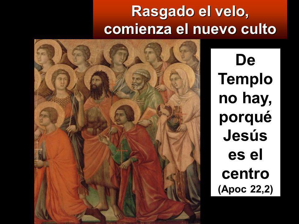 De Templo no hay, porqué Jesús es el centro (Apoc 22,2)