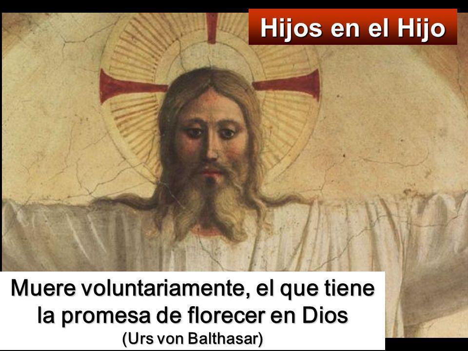 Muere voluntariamente, el que tiene la promesa de florecer en Dios