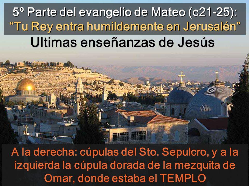 Ultimas enseñanzas de Jesús