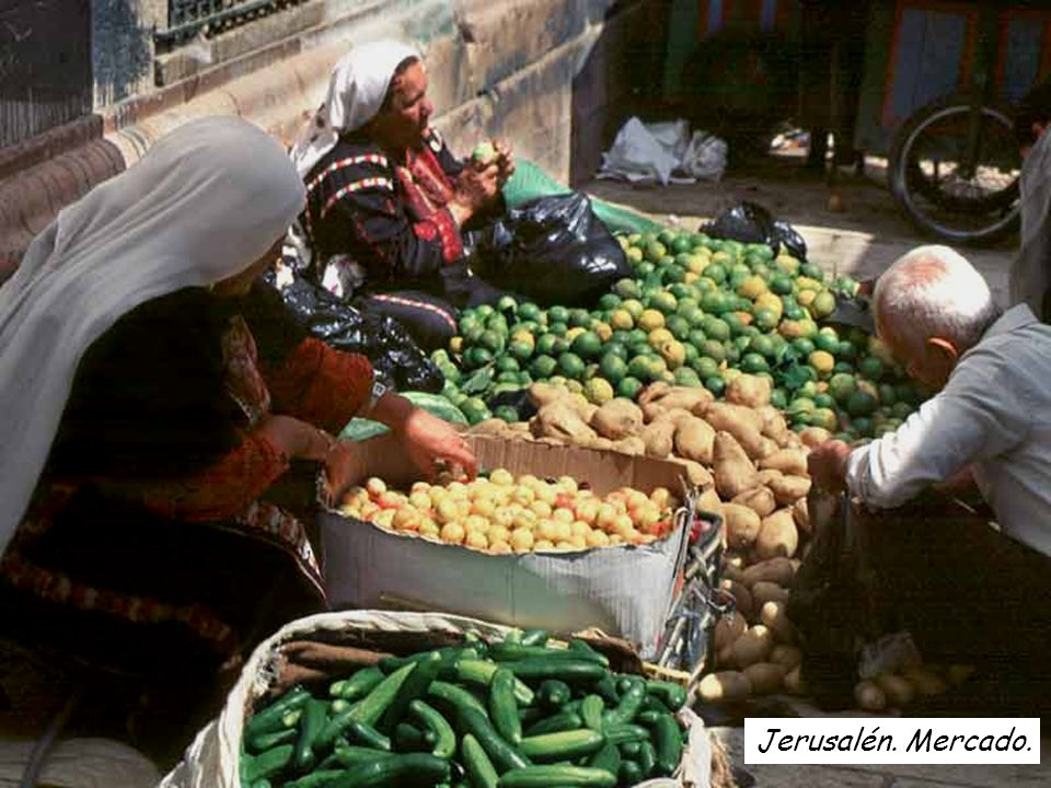 Jerusalén. Mercado.