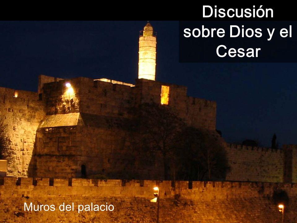 Discusión sobre Dios y el Cesar