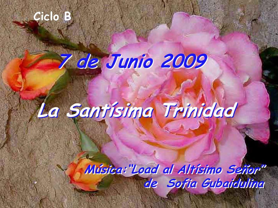 7 de Junio 2009 La Santísima Trinidad