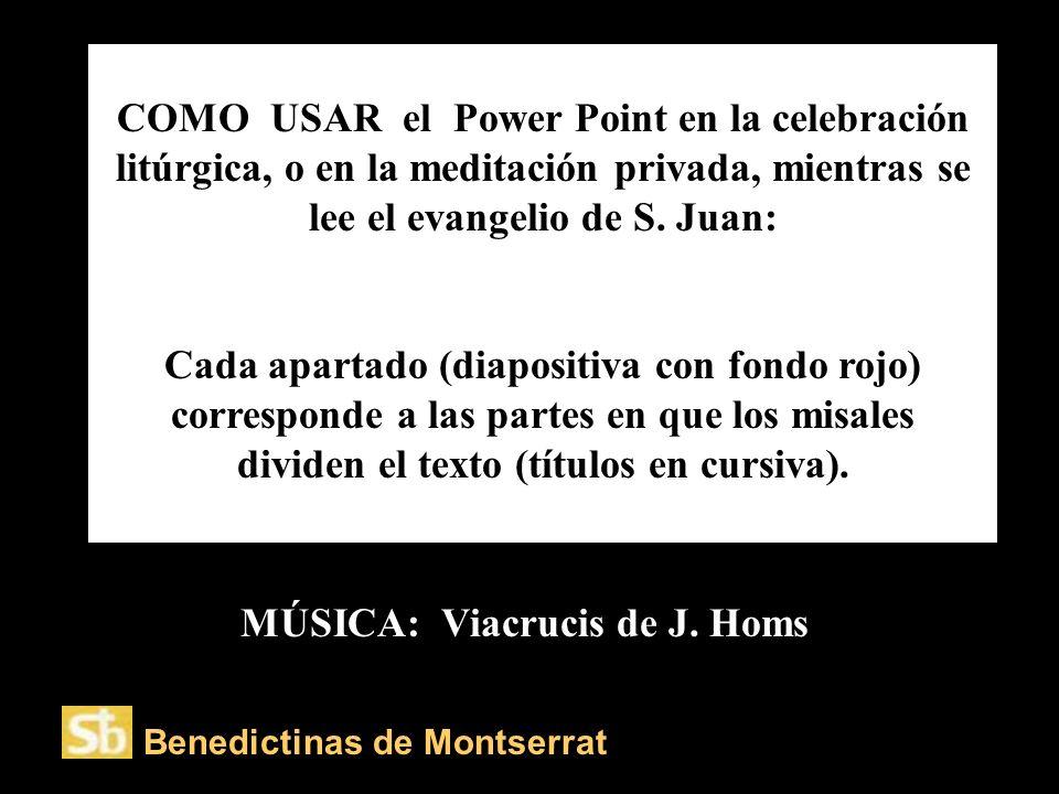 MÚSICA: Viacrucis de J. Homs