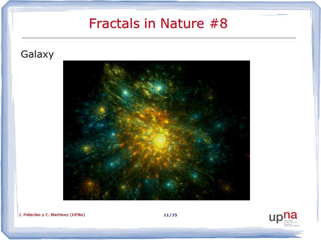 Fractals in Nature #8 Galaxy J. Palacián y C. Martínez (UPNa)